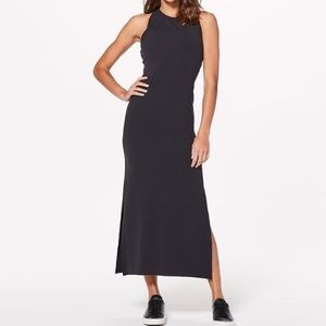 Lululemon Black Maxi Dress